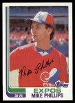 1982 Topps #762  Mike Phillips  Front Thumbnail