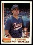1982 Topps #767  Roy Smalley  Front Thumbnail