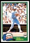 1981 Topps #46  Rick Bosetti  Front Thumbnail