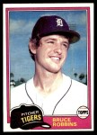 1981 Topps #79  Bruce Robbins  Front Thumbnail