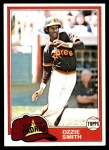 1981 Topps #254  Ozzie Smith  Front Thumbnail