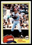 1981 Topps #304  John Castino  Front Thumbnail