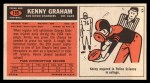 1965 Topps #159  Kenny Graham  Back Thumbnail