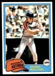 1981 Topps #439  Dennis Walling  Front Thumbnail