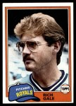 1981 Topps #544  Rich Gale  Front Thumbnail