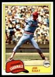1981 Topps #563  Jim Kaat  Front Thumbnail
