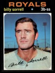 1971 Topps #17   -  Billy Sorrell    Front Thumbnail