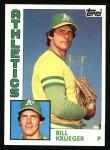 1984 Topps #178  Bill Krueger  Front Thumbnail