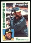 1984 Topps #354  Jeff Burroughs  Front Thumbnail