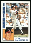 1984 Topps #478  Alan Bannister  Front Thumbnail
