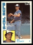 1984 Topps #575  Jim Clancy  Front Thumbnail