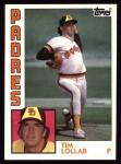1984 Topps #644  Tim Lollar  Front Thumbnail