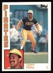 1984 Topps #645  Tony Pena  Front Thumbnail
