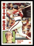 1984 Topps #667  Vance Law  Front Thumbnail