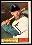 1961 Topps #13  Chuck Cottier  Front Thumbnail