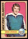 1972 Topps #53  Brian Spencer  Front Thumbnail