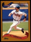 2002 Topps #9  B.J. Surhoff  Front Thumbnail