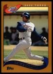 2002 Topps #38  Bengie Molina  Front Thumbnail