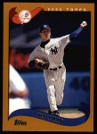 2002 Topps #132  Ted Lilly  Front Thumbnail