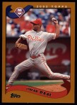 2002 Topps #155  Omar Daal  Front Thumbnail