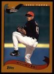 2002 Topps #257  Nelson Cruz  Front Thumbnail