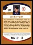 2002 Topps #288  Joe Kerrigan  Back Thumbnail