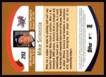 2002 Topps #292  Mike Scioscia  Back Thumbnail