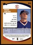 2002 Topps #313  Freddy Sanchez   Back Thumbnail