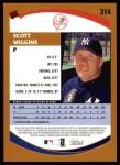 2002 Topps #314  Scott Wiggins   Back Thumbnail