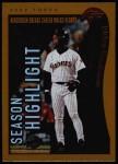 2002 Topps #333   -  Rickey Henderson  Highlights Front Thumbnail