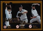 2002 Topps #342   -  Nomo / Mussina / Clemens League Leaders Front Thumbnail