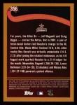 2002 Topps #356   Houston Astros - Playoff-Bound Back Thumbnail