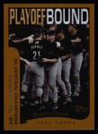 2002 Topps #356   Houston Astros - Playoff-Bound Front Thumbnail