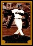 2002 Topps #365 VV  -  Barry Bonds Home Run 73 Front Thumbnail