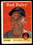 1958 Topps #222  Bud Daley  Front Thumbnail