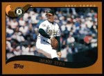 2002 Topps #455  Barry Zito  Front Thumbnail