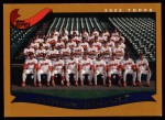 2002 Topps #649   Cleveland Indians Front Thumbnail
