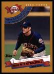 2002 Topps #698   -  Doug Mientkiewicz Golden Glove Front Thumbnail