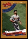 2002 Topps #712   -  Jim Edmonds Golden Glove Front Thumbnail