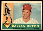 1960 Topps #366  Dallas Green  Front Thumbnail