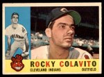 1960 Topps #400  Rocky Colavito  Front Thumbnail