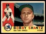 1960 Topps #315  Bobby Shantz  Front Thumbnail