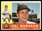 1960 Topps #231  Hal Naragon  Front Thumbnail