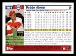 2005 Topps #194  Bobby Abreu  Back Thumbnail