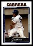 2005 Topps #298  Melky Cabrera  Front Thumbnail