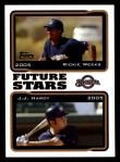 2005 Topps #328  Rickie Weeks / J.J. Hardy  Front Thumbnail