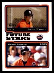 2005 Topps #330  David Wright / Craig Brazell  Front Thumbnail