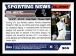 2005 Topps #356   -  Paul Konerko All-Star Back Thumbnail