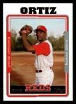2005 Topps #496  Ramon Ortiz  Front Thumbnail