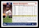 2005 Topps #505  Nomar Garciaparra  Back Thumbnail